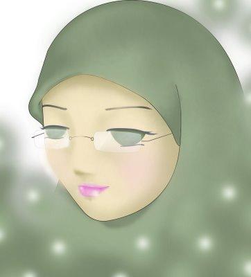 Wanita yang didunianya solehah akan menjadi cahaya bagi keluarganya ...